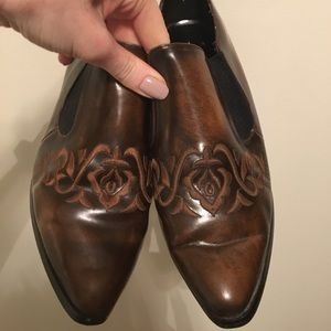 Shoes - Fredrico Vintage Chelsea Style Shoes